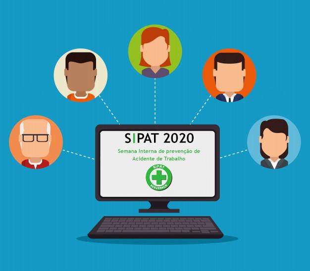SIPAT 2020 à distância com segurança!